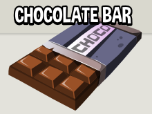 Chocolate bar game asset icon
