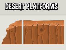 Desert platform tiles