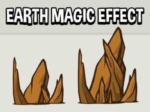 Earth spell effect