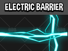 Electric barrier effect