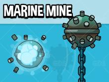 Exploding marine mine