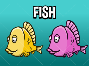 Fish game asset