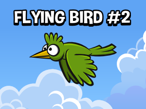 Flapping bird game asset number two