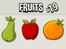 Fruit icons redo