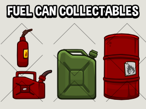 Fuel can collectables