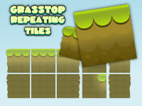 Grass top  tiles free