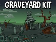 Graveyard scene creator