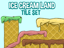 Ice cream tiles