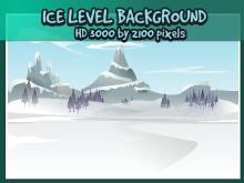 Ice level backdrop image