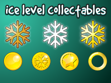 Ice level collectables