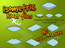 Isometric river tile