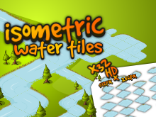 Isometric water tiles