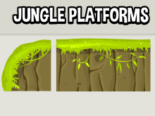 Jungle level building blocks