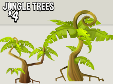 Jungle level trees