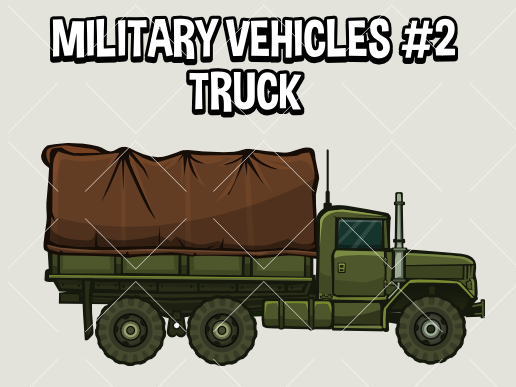 Military vehicle 2 truck