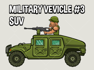 Military vehicle suv