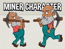 Miner character