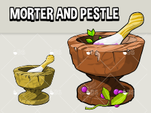 Morter and pestle