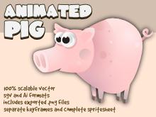 Pig sprite