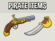 Pirate item collectables