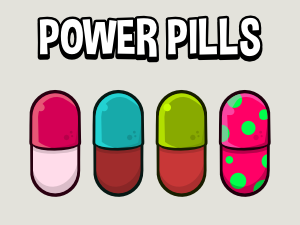 Power pill game collectable