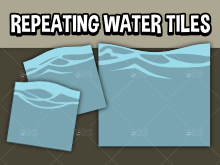 Repeating Water tiles