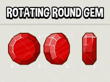 Rotating round gem