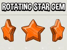 Rotating start gem