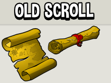 Scroll and parchment
