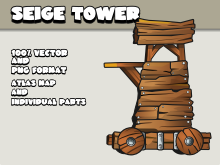 Seige tower