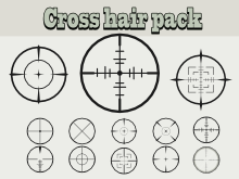 Simple cross hairs