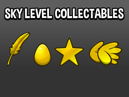 Sky level collectables