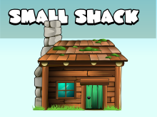 Small wood shack