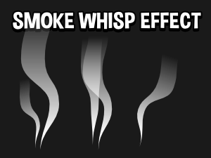 Smoke whisp animated 2d game effect