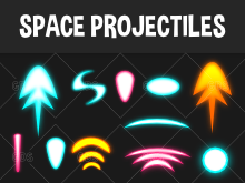 Space projectiles