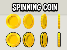 Spinning coin