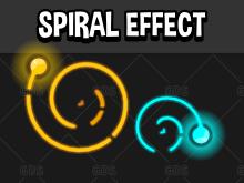Spiral game effect