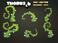 Thorn bush sprites