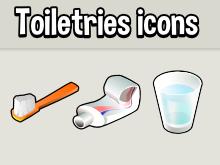 Toiletry Icons