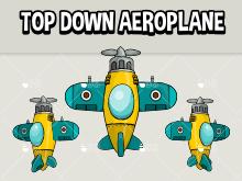 Top down aeroplane