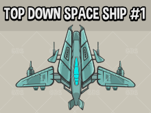 Top down spaceships one