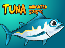Tuna fish sprite