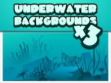 Three underwater backgrounds