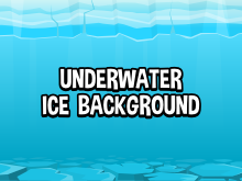 Underwater ice background