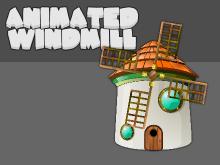 Windmill game asset