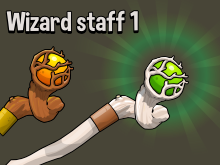 Wizard staff one