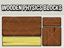 Wooden physics  blocks