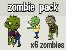 Zombie character pack