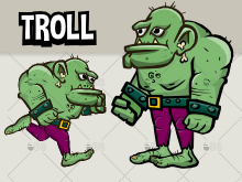 animated troll