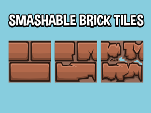 breakable brick tiles
